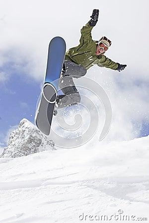 Free Extreme Snowboarding Stock Images - 4773364