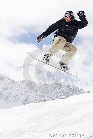 Free Extreme Snowboarding Royalty Free Stock Photos - 4773588