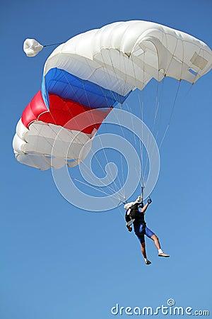 Free Extreme Sport Parachutist Stock Images - 34385904