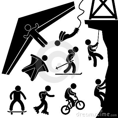 Extreme Sport Pictogram
