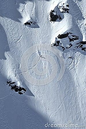 Extremee Freeride Skiing