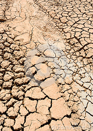 Extremely dry mud