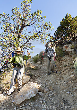 Extremes Wandern im Grand Canyon