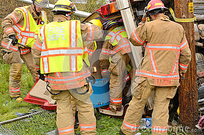 Extrication Editorial Photo