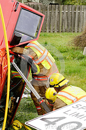 Extrication Editorial Image