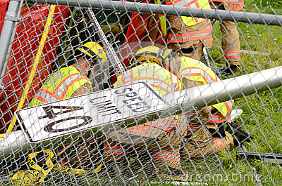 Extrication Editorial Stock Image