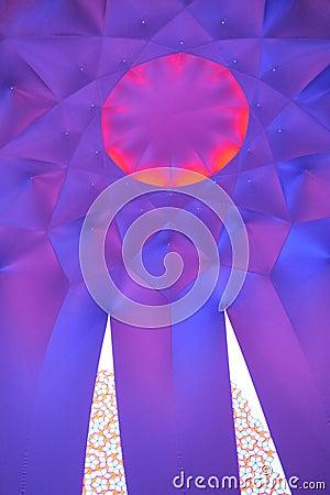 Exxopolis-Kuppel Redaktionelles Stockbild