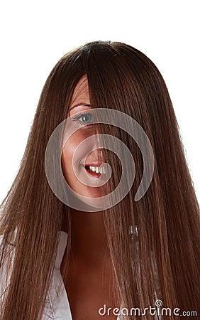 Eye волосы