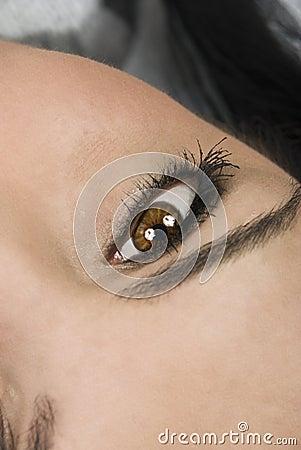 Eye-close up