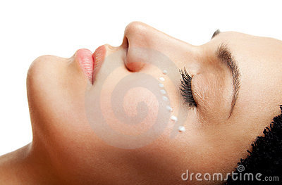 Eye Cream Treatment Stock Image - Image: 14291941