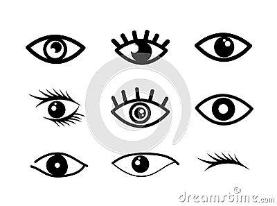Eye designs Vector Illustration