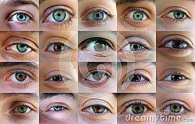 Eye, eyes - many eyes