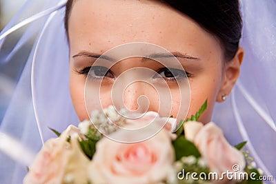 Eye and flower