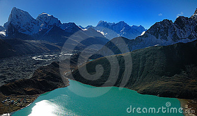 The Eye of the Himalaya