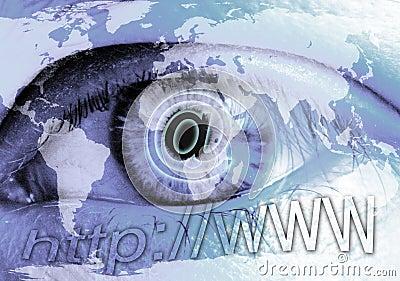 Eye and Internet