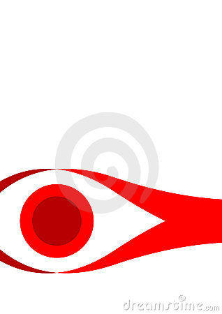 Eye like image for branding