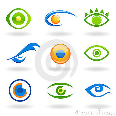 Free Eye Logos Vector Royalty Free Stock Image - 6999456