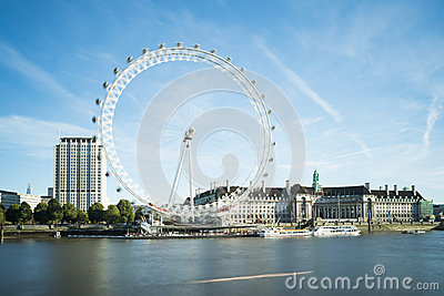 The eye London Editorial Stock Photo