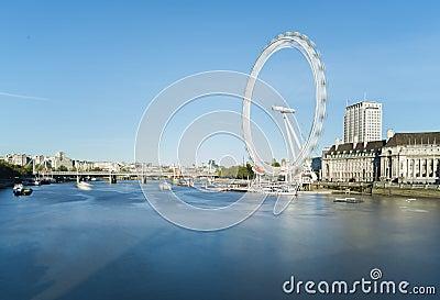 The eye London Editorial Image