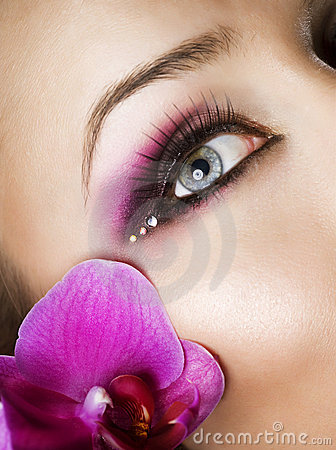 Free Eye Makeup Royalty Free Stock Photos - 19186988