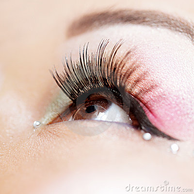 Free Eye Makeup Royalty Free Stock Image - 8013266