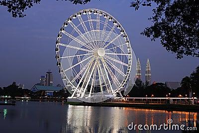Eye of Malaysia Editorial Image