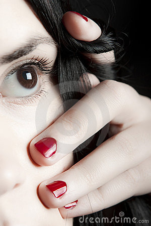 Eye and nails