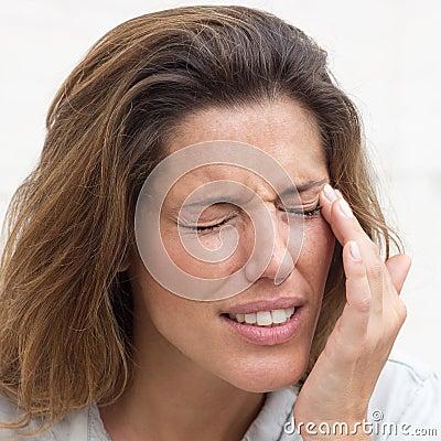 Free Eye Pain Royalty Free Stock Photo - 74131155