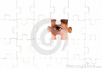 Eye on a puzzle