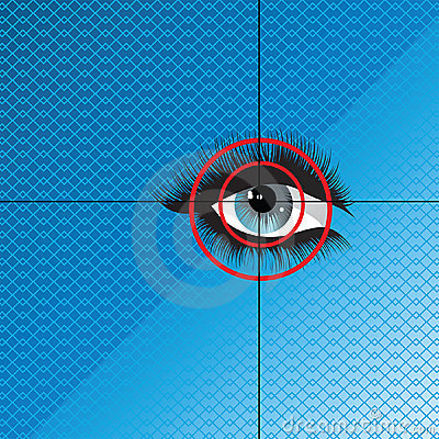 Eye scan Biometrics