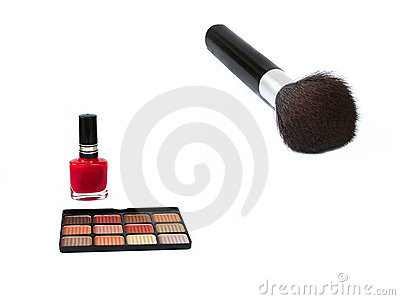 Brush on Eye Shadow Brush Royalty Free Stock Photo   Image  153045
