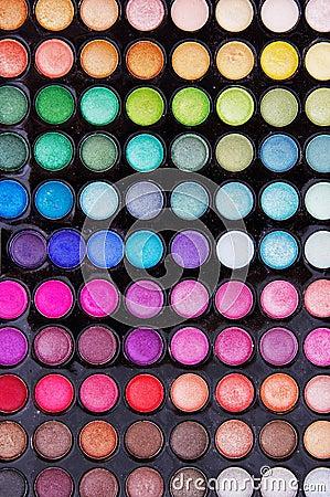 Free Eye Shadow Kit Stock Photos - 24339373