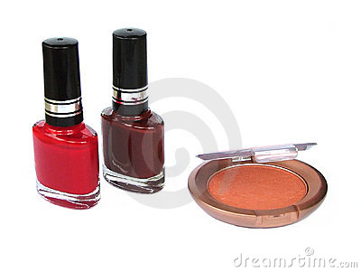 Eye shadow nail polish