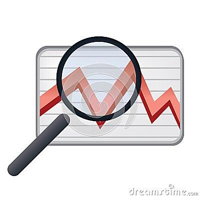 An eye on stock market charts