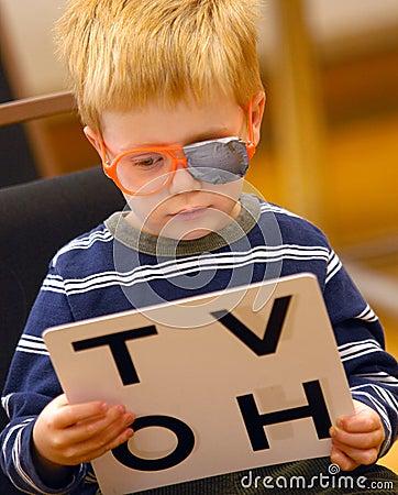 Free Eye Test Royalty Free Stock Photos - 6509958