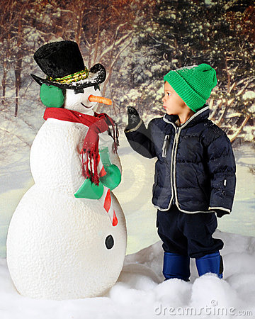 Eye-to-Eye with a Snowman