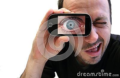 Eye zooming