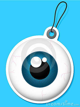 Eyeball tag
