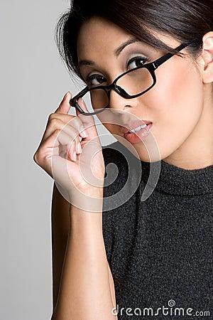 Free Eyeglasses Girl Royalty Free Stock Image - 8681836