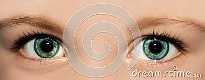 Eyes of a kid