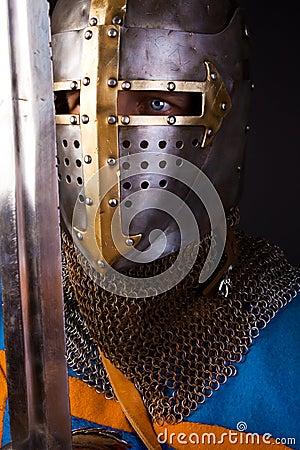 Eyes of knight