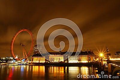 The Eyes of London, UK Editorial Photo