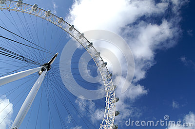 The Eyes of London, UK Editorial Stock Photo