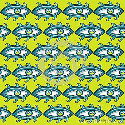 Eyes seamless texture