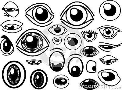 Eyes Stock
