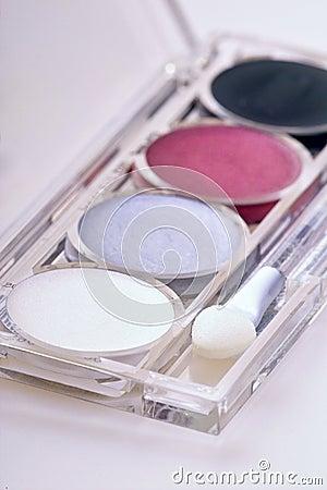 Free Eyeshadow Kit Royalty Free Stock Images - 520539
