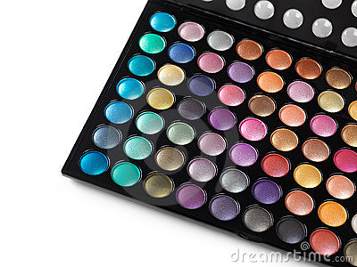 Eyeshadow Makeup Palette Royalty Free Stock Photos - Image: 15300608