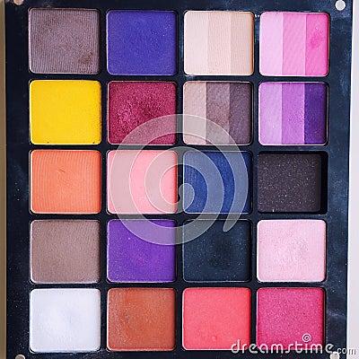 Free Eyeshadow Makeup Palette Stock Image - 41113321
