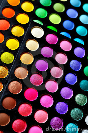 Free Eyeshadow Palette Royalty Free Stock Images - 20010369