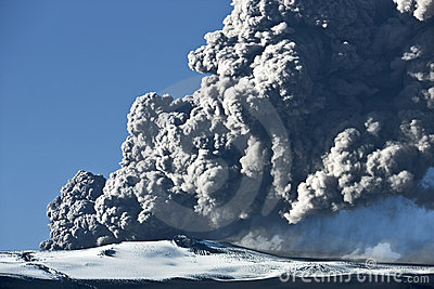 Eyjafjallajokull volcano Editorial Photography